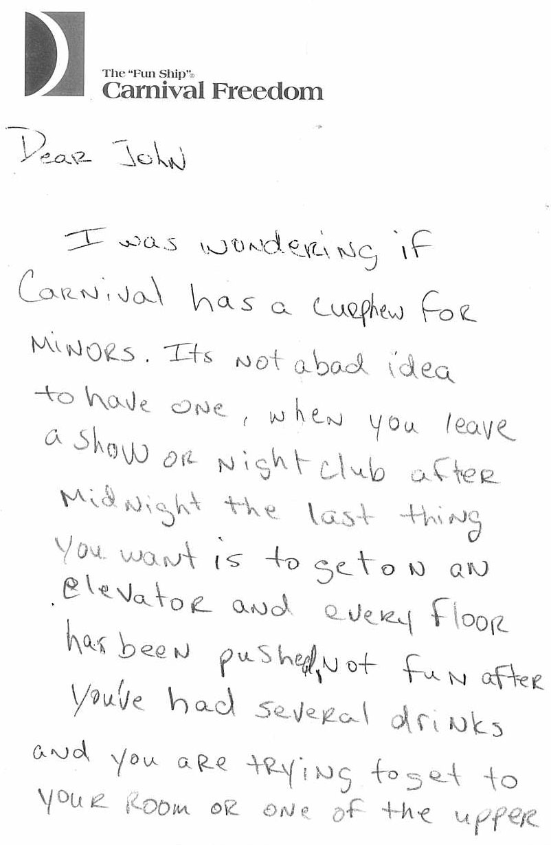 Letter 5 pg 1