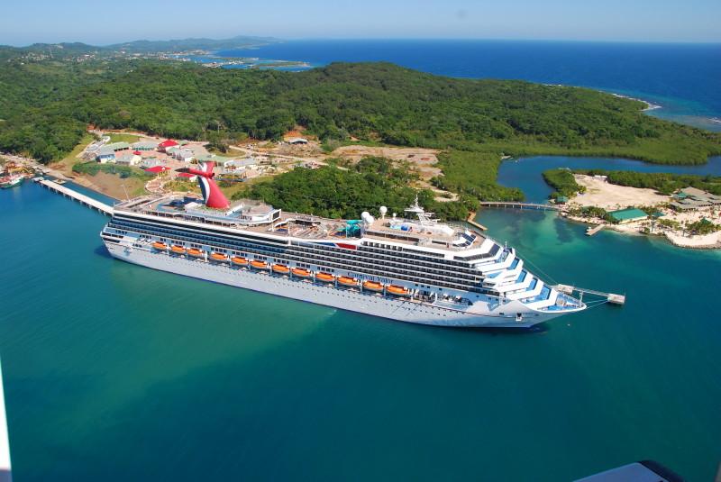 Carnival Valor Docks at the New $62 Million Mahogany Bay Cruise Center at ...
