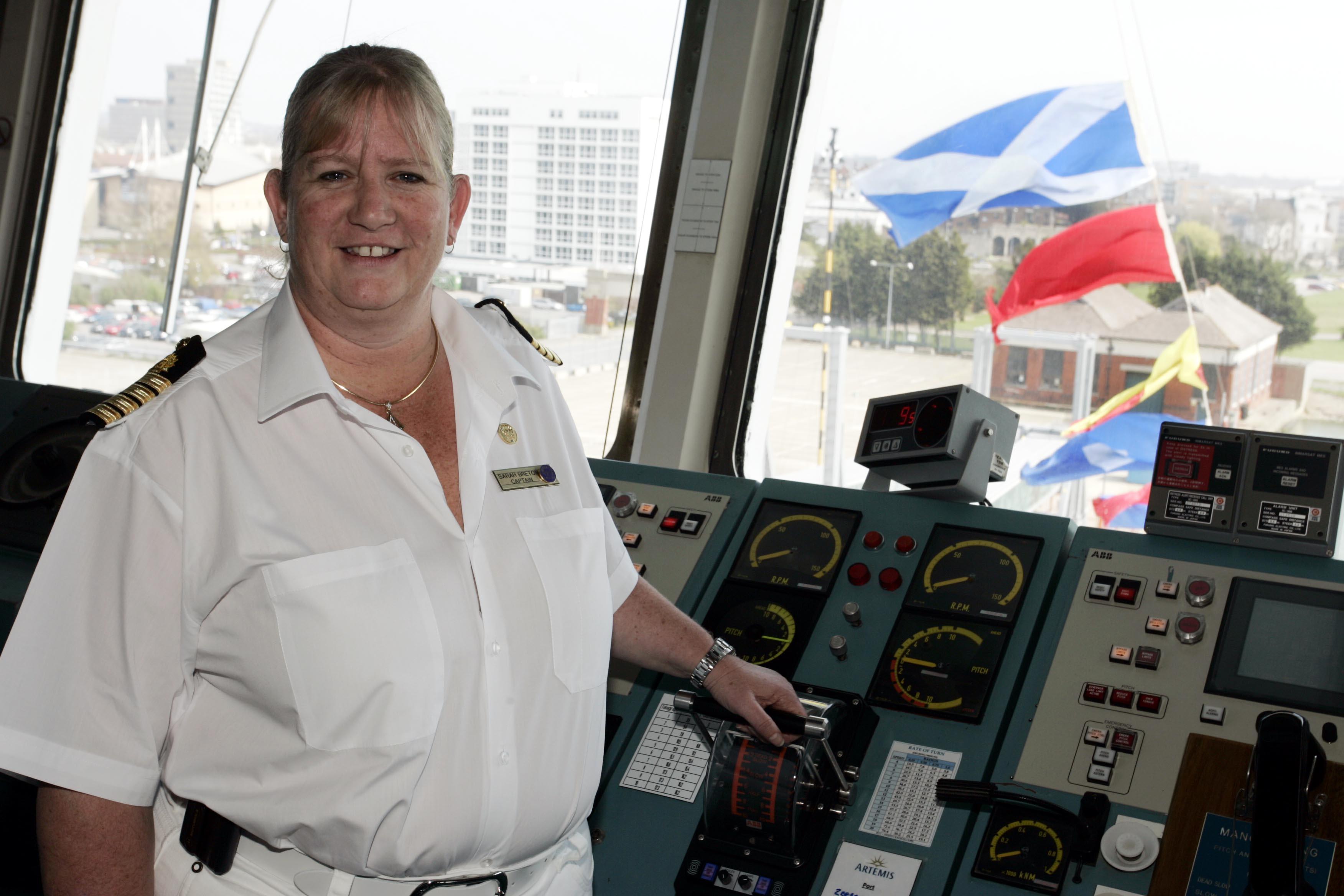 Captain Sarah Breton