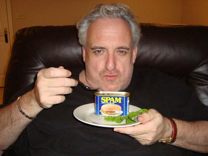 John Eating Spam