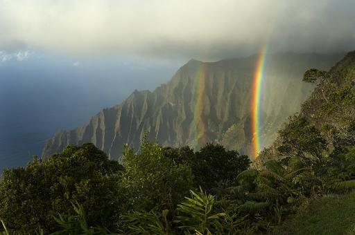 Hawaii Kauai Kalalai valley