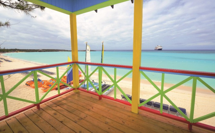 Half Moon Cay Beach Villas Balcony