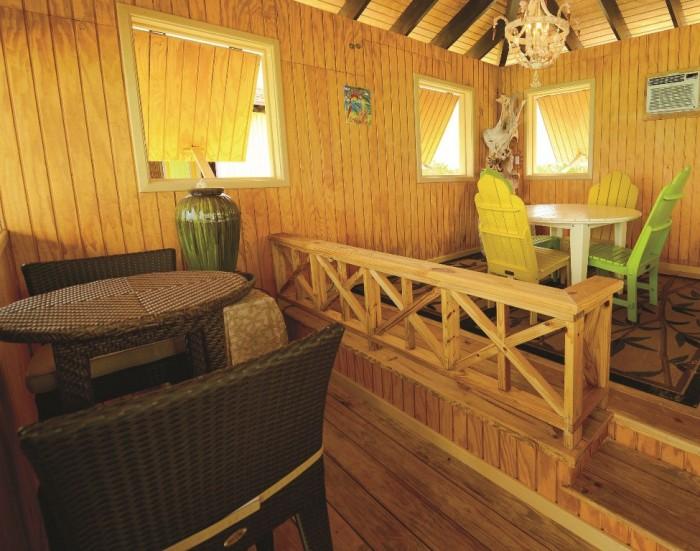 Interior of Half Moon Cay Beach Villas